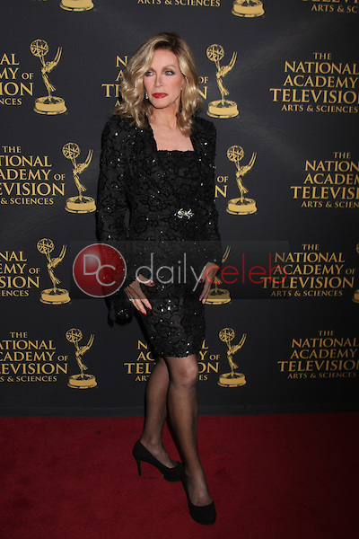 Donna Mills at the Daytime Emmy Creative Arts Awards 2015 at the Universal Hilton Hotel on April 24, 2015 in Los Angeles, CA