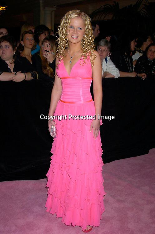 Crystal Hunt ..arriving at the Daytime Emmy Awards on May 21, 2004 at the Sheraton and at Radio City Music Hall...Photo by Robin Platzer, Twin Images