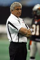 Wally Buono BC Lions head coach 2004. Photo Scott Grant