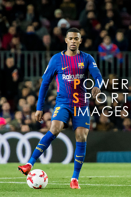 Nelson Cabral Semedo of FC Barcelona in action during the Copa Del Rey 2017-18 Round of 16 (2nd leg) match between FC Barcelona and RC Celta de Vigo at Camp Nou on 11 January 2018 in Barcelona, Spain. Photo by Vicens Gimenez / Power Sport Images