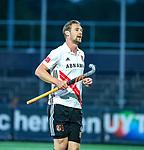 AMSTELVEEN - Mirco Pruyser (Adam)   tijdens de play-offs hoofdklasse  heren , Amsterdam-Bloemendaal (0-2).    COPYRIGHT KOEN SUYK
