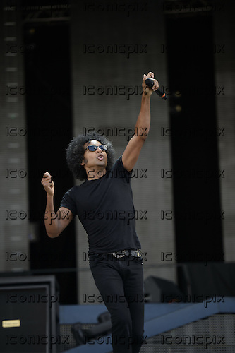 ALICE IN CHAINS - vocalist William DuVall - performing live on the Apollo Stage on Day 2 of the 2014 Sonisphere Festival at Knebworth Park London UK - 05 Jul 2014.  Photo credit: George Chin/IconicPix