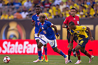 Action photo during the match Ecuador vs Haiti at MetLife Stadium Copa America Centenario 2016. ---Foto  de accion durante el partido Ecuador vs Haiti, En el Estadio MetLife Partido Correspondiante al Grupo - B -  de la Copa America Centenario USA 2016, en la foto: Sony Norde<br /> <br /> -- 12/06/2016/MEXSPORT/Javier Ramirez.