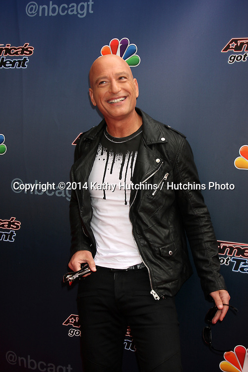 "LOS ANGELES - APR 22:  Howie Mandel at the ""America's Got Talent"" Los Angeles Auditions Arrivals at Dolby Theater on April 22, 2014 in Los Angeles, CA"