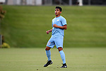 CARY, NC - SEPTEMBER 29: UNC Raul Aguilera. The University of North Carolina Tar Heels hosted the North Carolina State University Wolfpack on September 29, 2017 at Koka Booth Field at WakeMed Soccer Park in Cary, NC in a Division I college soccer game.