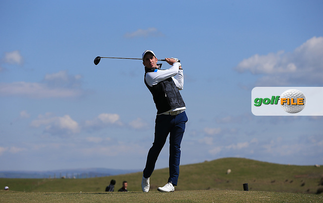 Craig Kieswetter during Round Two of the West of England Championship 2016, at Royal North Devon Golf Club, Westward Ho!, Devon  23/04/2016. Picture: Golffile   David Lloyd<br /> <br /> All photos usage must carry mandatory copyright credit (&copy; Golffile   David Lloyd)