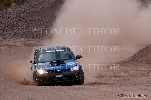 2015 Lake Superior Performance Rally held in Houghton Michigan on October 16-17.