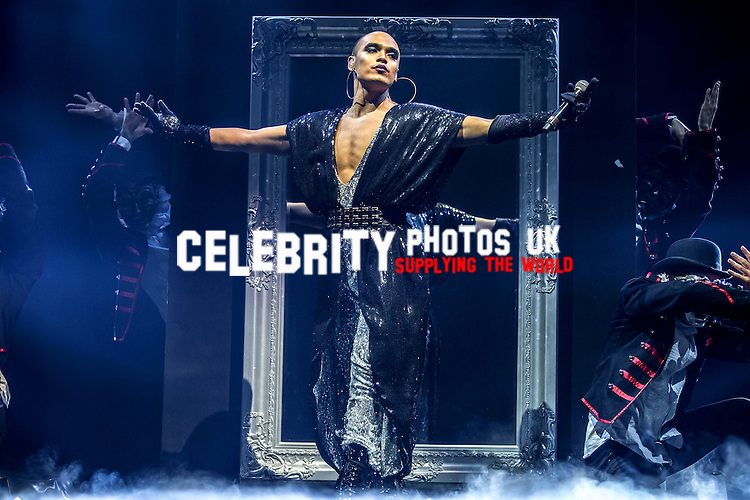 Seann Miley Moore the 'The X Factor' Live Tour 2016 at the Genting Arena  Birmingham, United Kingdom 27 Feb 2016
