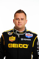 15 January, 2014, West Palm Beach, Florida USA, Richie Crampton, Geico, Lucas Oil, top fuel dragster @2014, Mark J. Rebilas