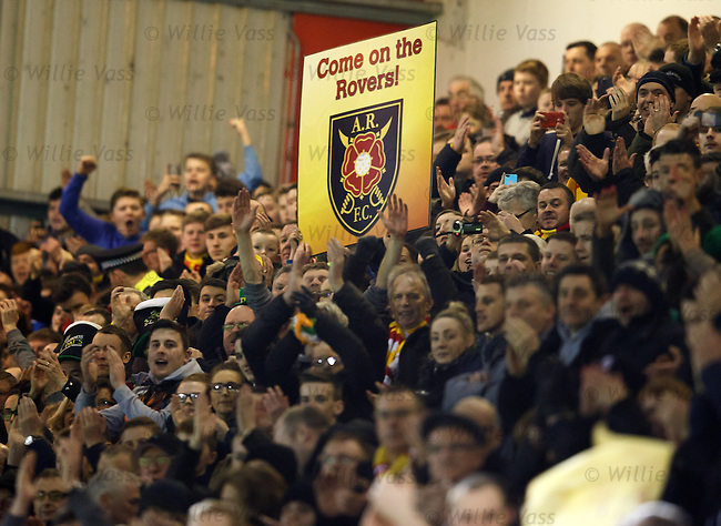 Albion Rovers fans