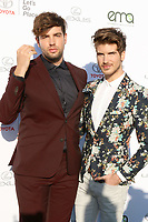 LOS ANGELES - SEP 23:  Daniel Preda, Joey Graceffa at the 27th Environmental Media Awards at the Barker Hangaer on September 23, 2017 in Santa Monica, CA