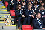St Johnstone FC Player of the Year Awards...18.05.14<br /> Stevie May looks on with all his awards<br /> Picture by Graeme Hart.<br /> Copyright Perthshire Picture Agency<br /> Tel: 01738 623350  Mobile: 07990 594431