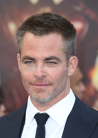 HOLLYWOOD, CA - MAY 25: Chris Pine, at the Wonder Woman Los Angeles Film Premiere at The Pantages in Hollywood, California on May 25, 2017. Credit: Faye Sadou/MediaPunch