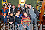 Trish Moloney, Ardshanavooley, Killarney, pictured with Louise McCarthy, Bernard Moloney, Catherine Lucey, Sean O'Connor, Dermot Moynihan, John O'Neill, Allison Dewhurst, John O'Connor and Dermot O'Callaghan as she celebrated her going away party in Linehans Bar, Killarney on Friday night.
