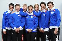 Team 1nP 2011-2012.Frank Hermans - Bart van den Berg - Ben Jongejan - Johan de Wit - Bram Smallenbroek - Thom van Beek - Lucas van Alphen