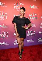 NEW YORK, NY - JUNE 11: Tv personality Chenoa Maxwell pictured at the 'Ailey Spirit Gala Benefit at the David H. Koch Theater , New York City ,June 11, 2014 © HP/Starlitepics.