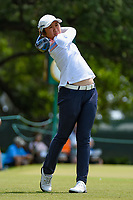 Jing Yan (CHN) watches her tee shot on 1 during round 4 of the 2019 US Women's Open, Charleston Country Club, Charleston, South Carolina,  USA. 6/2/2019.<br /> Picture: Golffile | Ken Murray<br /> <br /> All photo usage must carry mandatory copyright credit (© Golffile | Ken Murray)