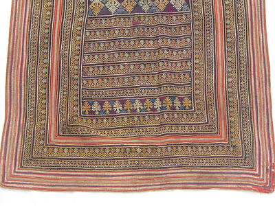 ANTIQUE YAO ROBE WITH FINE EMBROIDERY