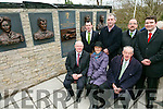 Unveiling of Wall of Remembrance for the The Ballykissane Tragedy Good Friday 1916 in Killorglin on Friday. Pictured Front l-r  John Brassil, Kate Kennelly and Michael Cahill, Scarteen. Back l-r  John Francis Lyne, Cllr Michael Cahill, Martin O'Donoghue and Brendan Griffin.