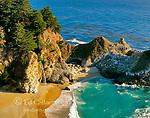 McWay Falls, Pfeiffer-Burns State Park, Big Sur, Monterey County, California