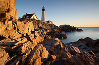 Portland Head Light, Portland, ME sunrise