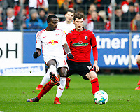 BRUMA, RB Leipzig - Pascal STENZEL, SCF,   Fussball, 1. Bundesliga  2017/2018<br /> <br /> <br />  Football: Germany, 1. Bundesliga, SC Freiburg vs RB Leipzig, 20.01.2018. *** Local Caption *** © pixathlon