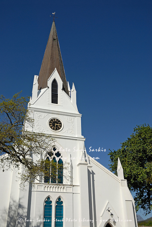 Dutch Reformed Church on Church Street, Stellenbosch, Western Cape Province, South Africa