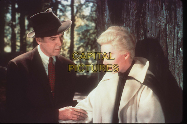 James Stewart, Kim Novak<br /> in Vertigo (1958) <br /> *Filmstill - Editorial Use Only*<br /> CAP/NFS<br /> Image supplied by Capital Pictures