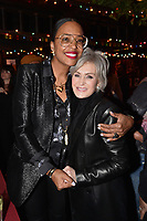 "HOLLYWOOD - FEBRUARY 20: Aisha Tyler and  Sharon Osbourne attend Ozzy Osbourne global tattoo and album listening party to celebrate his new album ""Ordinary Man"" on February 20, 2020 in Hollywood, California. (Photo by Lionel Hahn/Epic Records/PictureGroup)"