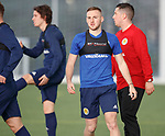 19.3.2018: Scotland u21 training:<br /> Allan Campbell