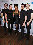 Brandy and the cast backstage at United presents 'Stars in the Alley' in  Shubert Alley on May 27, 2015 in New York City.