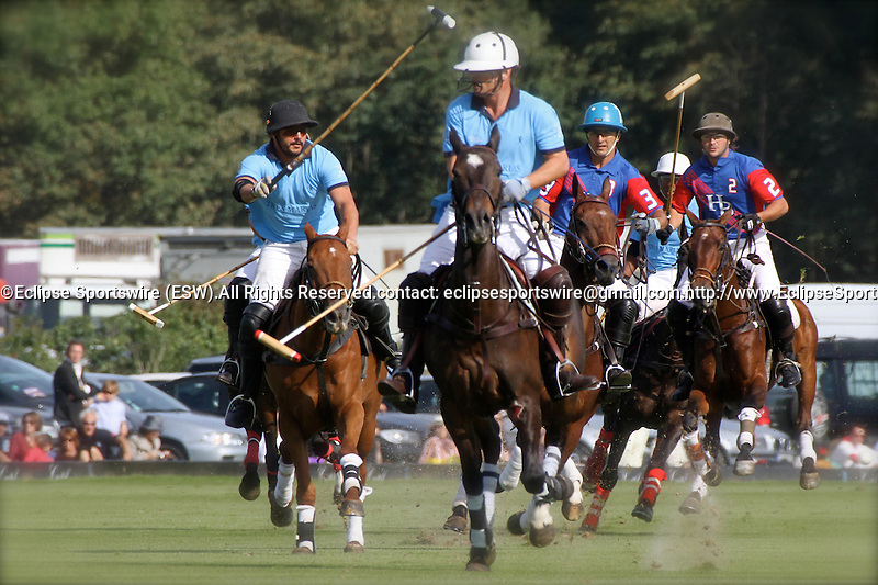 Final of the Polo French Open. Tres Marias Team defeats  HB Polo Team