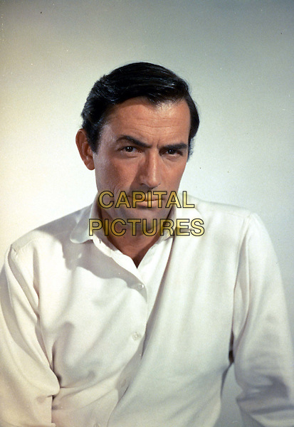 GREGORY PECK.Ref: 8982.www.capitalpictures.com.sales@capitalpictures.com.Supplied by Capital Pictures.headshot, portrait.