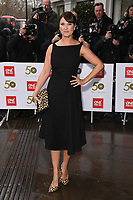 Emma Barton<br /> arriving for the TRIC Awards 2019 at the Grosvenor House Hotel, London<br /> <br /> ©Ash Knotek  D3487  08/03/2019