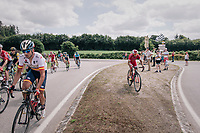 leaving the hive / jumping the curbs<br /> <br /> Stage 5: Lorient > Quimper (203km)<br /> <br /> 105th Tour de France 2018<br /> ©kramon