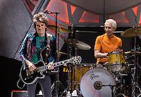 LAS VEGAS, NV - October 22, 2016: The Rolling Stones perform at T-Mobile Arena in Las vegas, NV on October 22, 2016. Credit: Erik Kabik Photography/ MediaPunch
