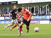Luton Town midfielder Jake Gray in action during the Sky Bet League 2 match between Luton Town and Doncaster Rovers at Kenilworth Road, Luton, England on 24 September 2016. Photo by Liam Smith.
