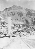 RGS #10 &amp; #12 laboring through a July snow accumulation at Pandora.<br /> RGS  Pandora, CO  7/1916