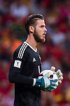 David De Gea of Spain in action during their 2018 FIFA World Cup Russia Final Qualification Round 1 Group G match between Spain and Italy on 02 September 2017, at Santiago Bernabeu Stadium, in Madrid, Spain. Photo by Diego Gonzalez / Power Sport Images