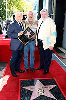 LOS ANGELES - FEB 24:  Tony Butala, Donny Pike, Gary Pike at the The Lettermen Star Ceremony on the Hollywood Walk of Fame on February 24, 2019 in Los Angeles, CA