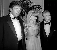 Donald Trump Ivana Trump Sam Wanamaker<br /> Photo By John Barrett/PHOTOlink