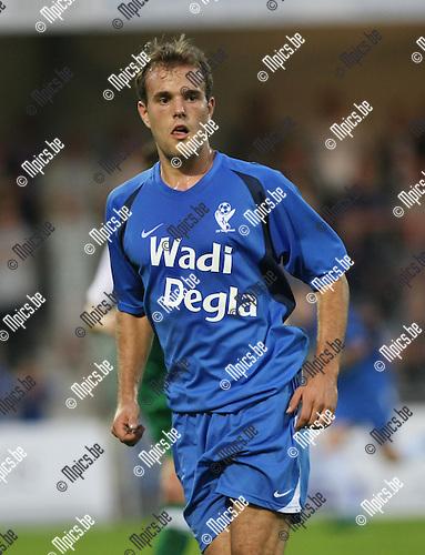 2008-08-30 / Voetbal / KV Turnhout - RC Mechelen / Kane Develer..Foto: Maarten Straetemans (SMB)