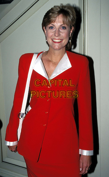 JILL DANDO.Ref: 4701/1103G.red, half length, half-length, murdered, dead, deceased.*RAW SCAN - photo will be adjusted for publication*.www.capitalpictures.com.sales@capitalpictures.com.© Capital Pictures