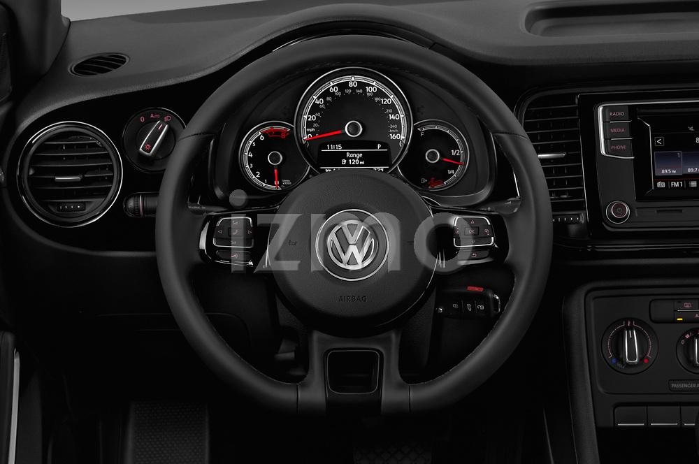 Car pictures of steering wheel view of a 2019 Volkswagen Beetle S 5 Door Hatchback