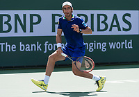 PABLO CUEVAS (URU)<br /> <br /> BNP PARIBAS OPEN, INDIAN WELLS, TENNIS GARDEN, INDIAN WELLS, CALIFORNIA, USA<br /> <br /> &copy; TENNIS PHOTO NETWORK