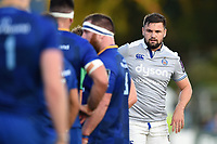 Elliott Stooke of Bath Rugby looks on. Pre-season friendly match, between Leinster Rugby and Bath Rugby on August 25, 2017 at Donnybrook Stadium in Dublin, Republic of Ireland. Photo by: Patrick Khachfe / Onside Images