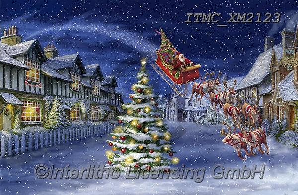 Marcello, CHRISTMAS SANTA, SNOWMAN, WEIHNACHTSMÄNNER, SCHNEEMÄNNER, PAPÁ NOEL, MUÑECOS DE NIEVE, paintings+++++,ITMCXM2123,#x#