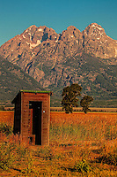 Outhouse in the Mountains