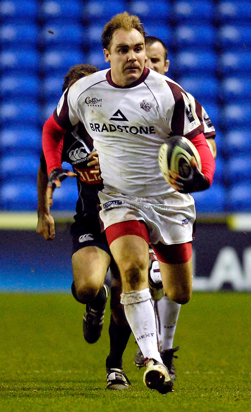 Photo: Alan Crowhurst..London Irish v Leicester Tigers. Guinness Premiership. 26/12/2006. Leicester's Andy Goode.