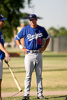 Clay Calfee / Los Angeles Dodgers 2008 Instructional League..Photo by:  Bill Mitchell/Four Seam Images